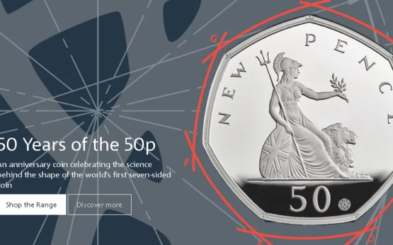 The Royal Mint Celebrates 50 years of the 50p (2)