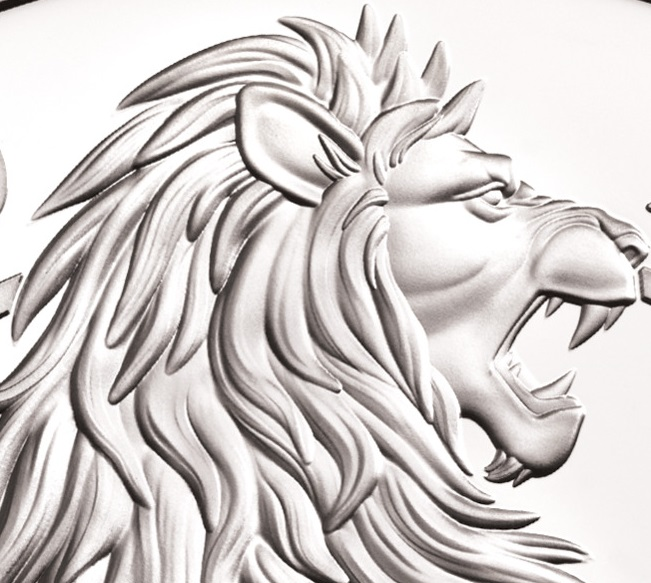 2020 Queen's Beasts collection: the White Lion of Mortimer
