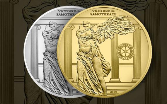 10€ ARGENT et 50 € OR Victoire de Samothrace 2019 – Monnaie de Paris