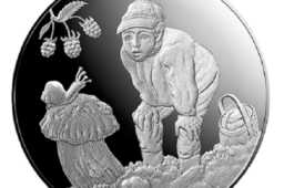 """2019 Latvian silver €5 coin «gift of the forest"""""""