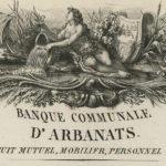 Le billet de 5 francs de La Banque Communale d'Arbanats, fondée par Maurice de La Châtre