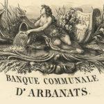 Les billets de 5 francs de La Banque Communale d'Arbanats, fondée par Maurice de La Châtre