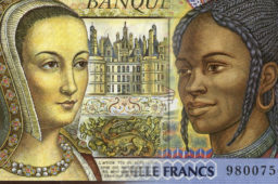 Interview de Pierrette Lambert, 40 ans de création de billets de banque – catalogue des ses créations