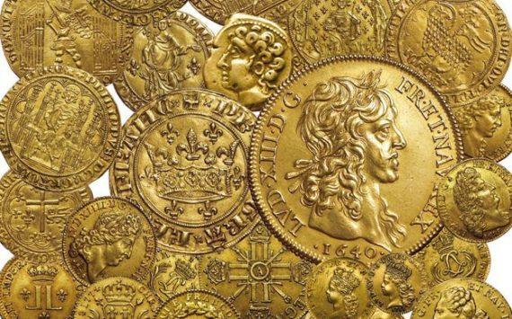 Résultats de la vente de rarissimes monnaies d'or royales aux enchères à Bordeaux – septembre 2019