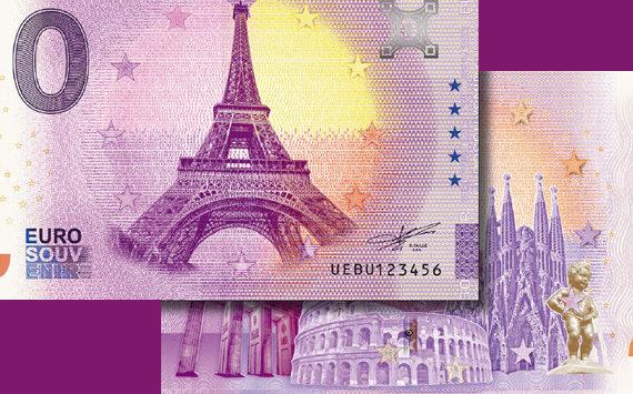 Les billets zero euro souvenir évoluent et fêtent leurs 5 ans !
