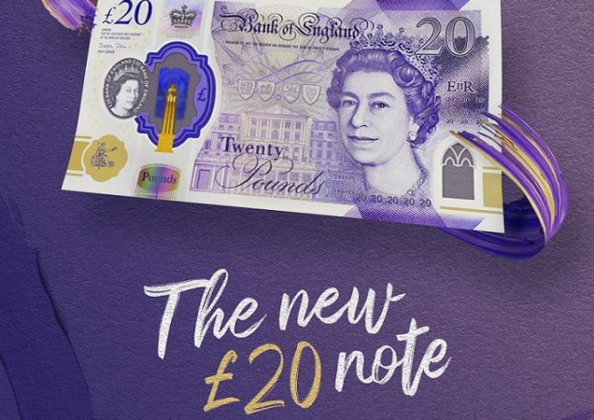 "Bank of England unveils new ""TURNER"" £20 banknote"