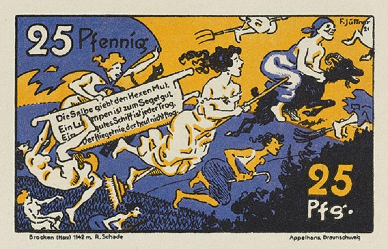 Exposition de NOTGELD 1914-1924 au BRITISH MUSEUM