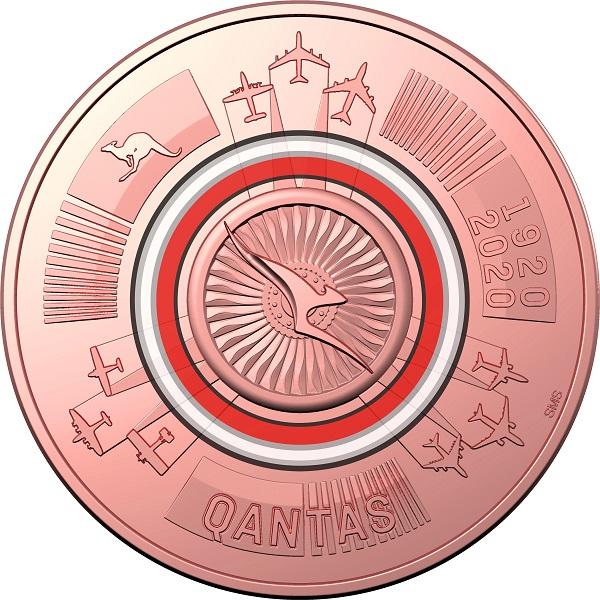 Australian mint celebrates 100th anniversary of QANTAS