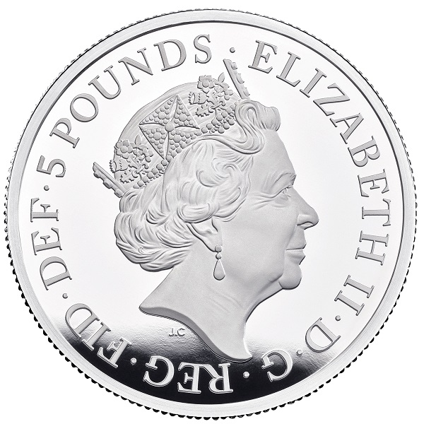 2019 New Great Engravers coins series of Royal Mint