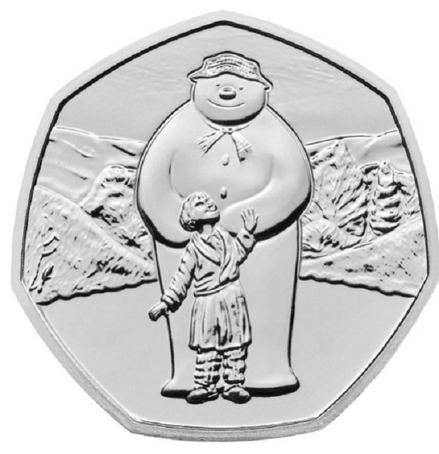 With the snow comes the time of the 2019 snowman coin, by RM