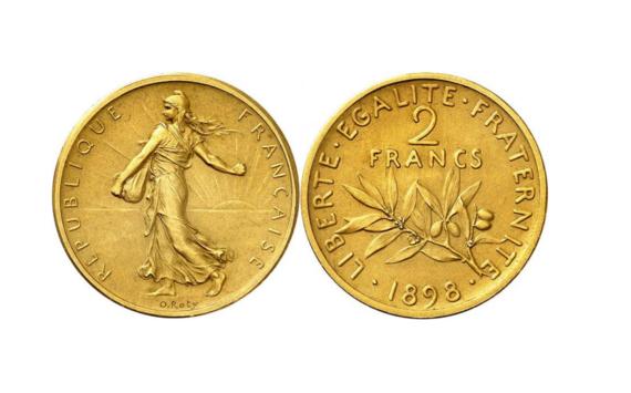 Une pièce de 2 francs valant au moins 50 000€!
