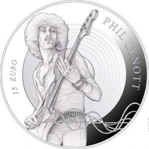 2019 €15 silver coin Phil Lynott