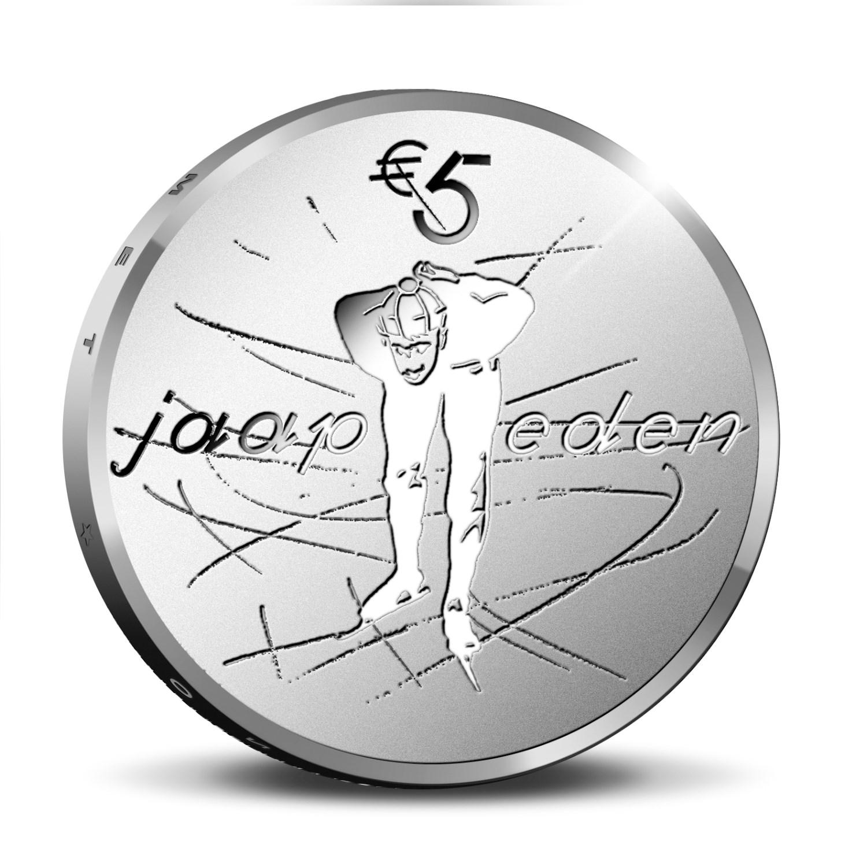5€ Jaap EDEN, les Pays Bas célèbrent un de leurs plus grands sportifs