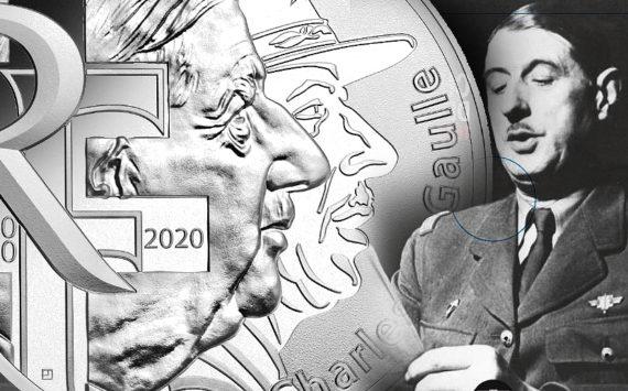10 euros et 100 euros argent CHARLES DE GAULLE – Monnaie de Paris 2020