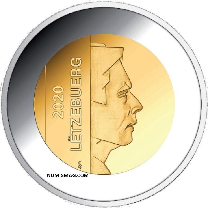 Programme numismatique 2020 du Luxembourg