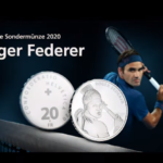 "Swissmint issues a 20 francs commemorative coin ""Roger Federer"""