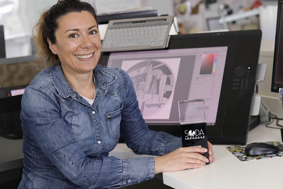 Alexandra STOKIC, maitre graveur, de Rome à Canberra
