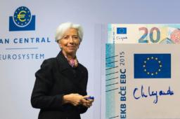 Christine LAGARDE: une nouvelle signature sur les euro-billets