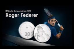 Jeu, set et match pour la Swiss Mint avec la piece Roger FEDERER!
