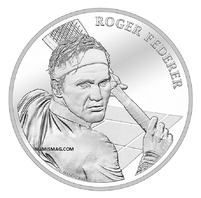 Programme numismatique suisse 2020: FEDERER, Einstein and Co