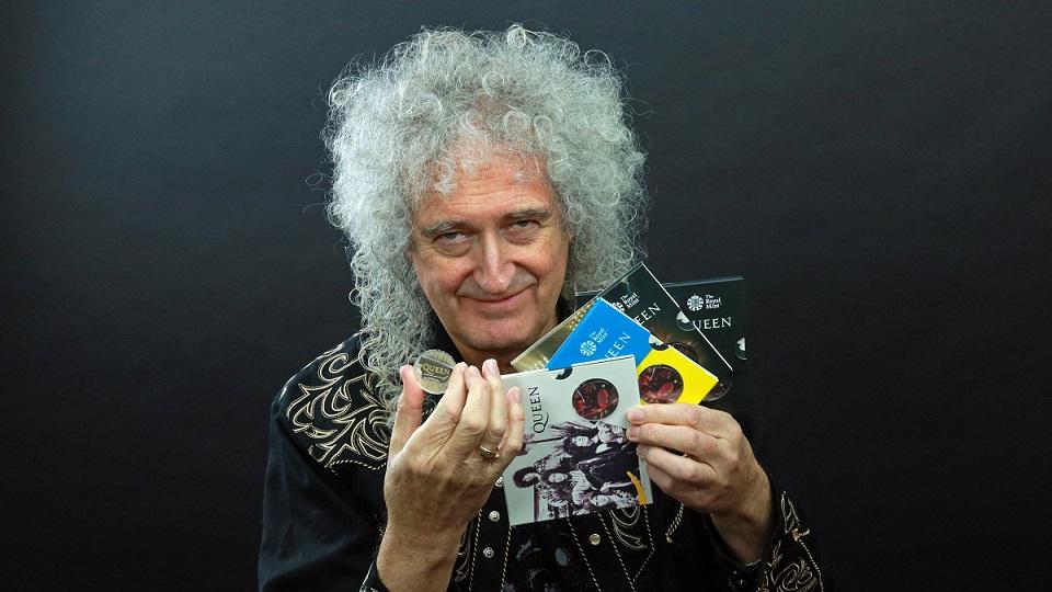 Le groupe de rock Queen célèbré par la Royal Mint