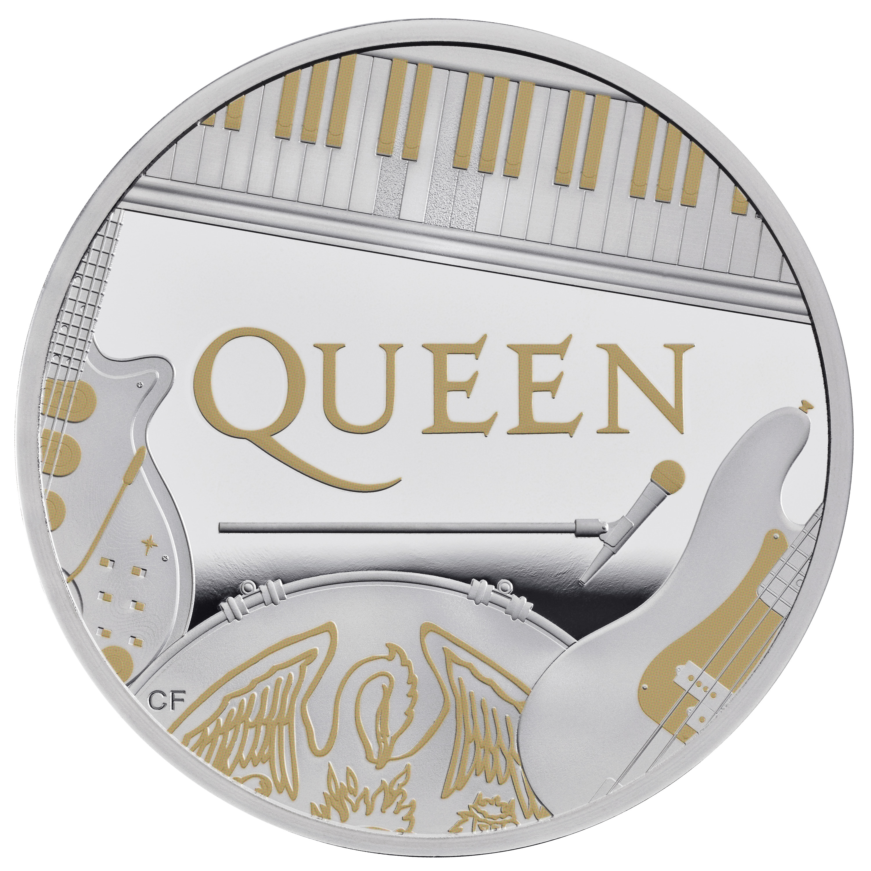 Queen rock music group celebrated with 2020 commemorative coins