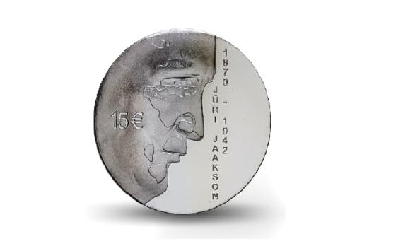 150e anniversaire de la naissance du chef de l'Etat estonien, Jüri Jaakson
