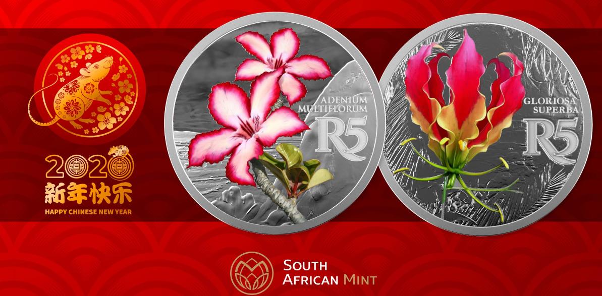 Programme numismatique sud africain 2020: Le retour des Big Five!