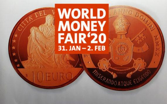 Programme numismatique 2020 du Vatican