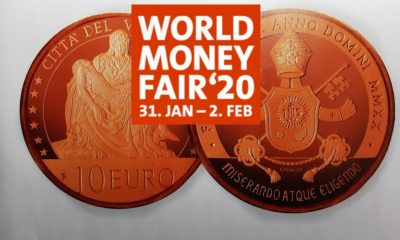 2020 Vatican numismatic program – Berlin World Money Fair