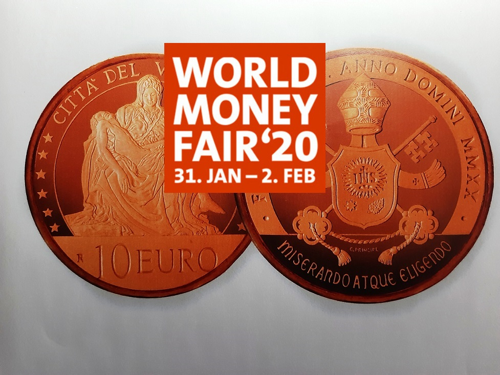 2020 Vatican numismatic program – Berlin World Money Fair
