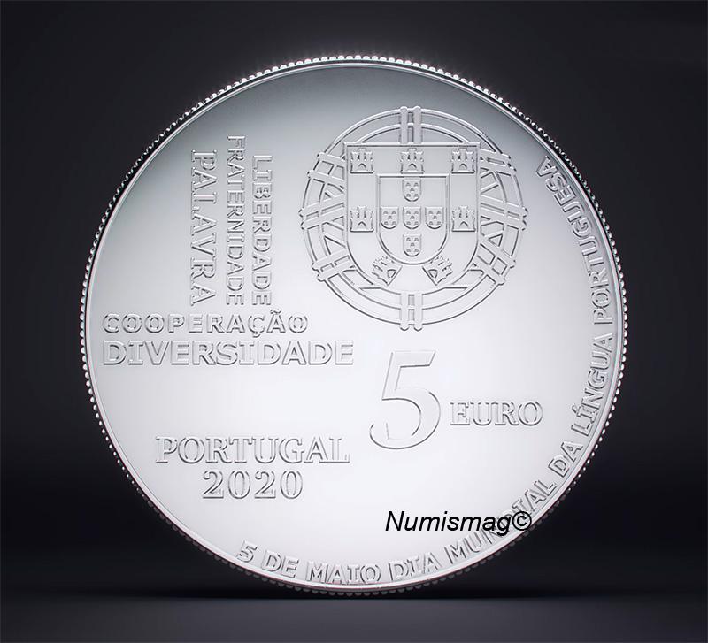 Programme numismatique du Portugal 2020