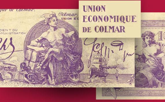 ALSACE – Les bons de l'Union économique de Colmar