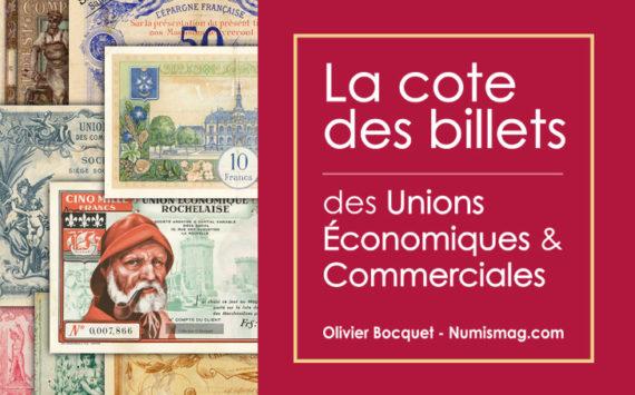 Catalogue des bons d'Unions Economiques et Commercials – Valeurs et cotations