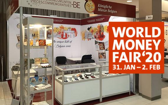 2020 numismatic program of Belgium – World Money Fair