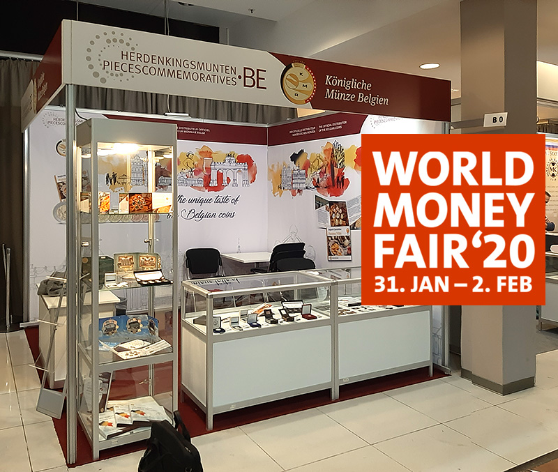 2020 numismatic program of Belgium – World Money Fair