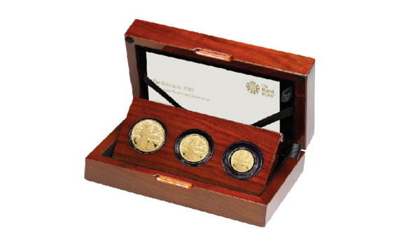 2020 Britannia coins from Royal Mint