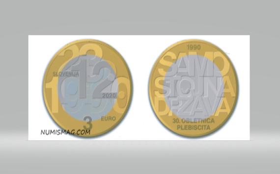 2020 slovenian numismatic program