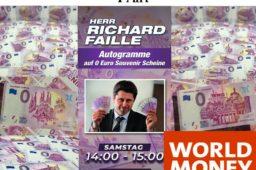Le nouveau billet zero euro en taille douce – Berlin World Money Fair 2020