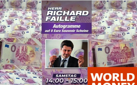 New generation of zero euro banknotes – 2020 Berlin World Money Fair