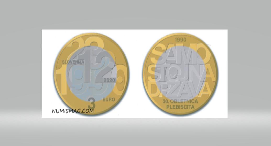 Programme numismatique 2020 de la Slovénie