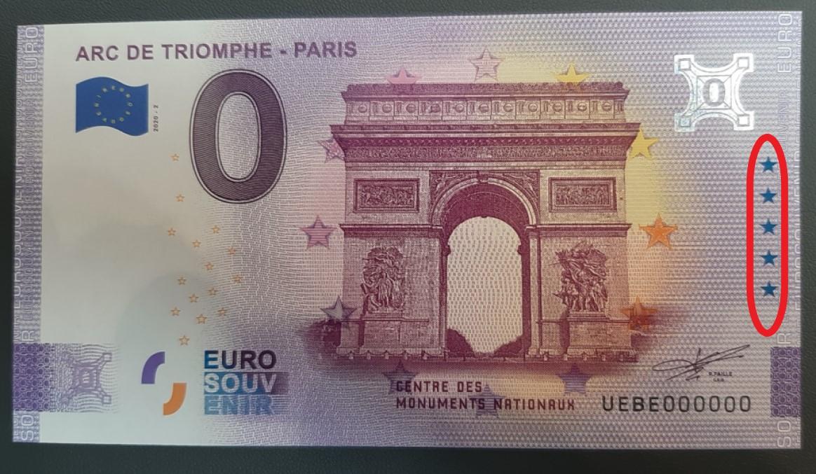 Le nouveau billet zero euro en taille douce - Berlin World Money Fair 2020