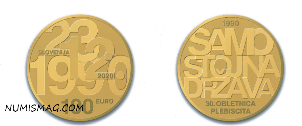 2020 slovenian numismatic program