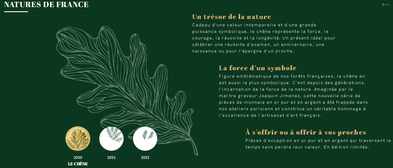"""Série """"Nature"""", quand la Monnaie de Paris se végétalise!"""
