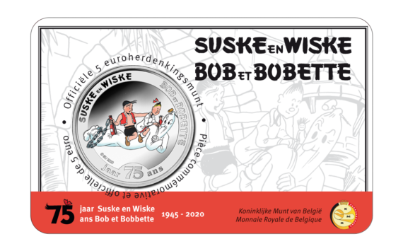Belgian mint honors Antwerp olympic games city as well as luke and lucy comic