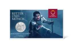 Pièce en argent autrichienne Chevalerie 2020