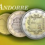 Valeurs et tirages des pièces euros d'Andorre - Pièces de circulation et commémorativ depuis 2014