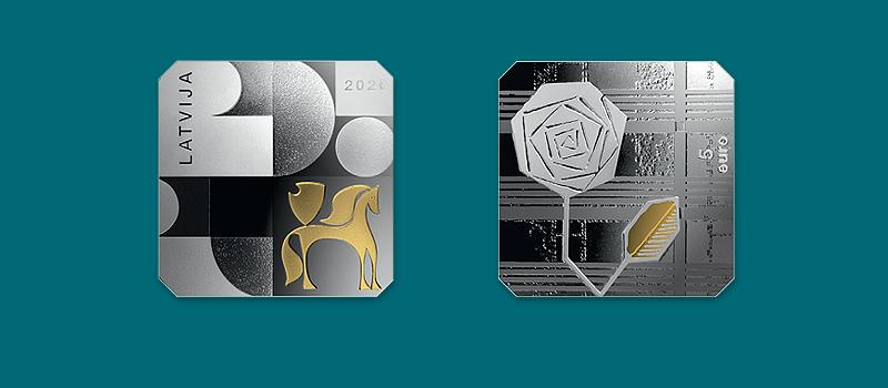 Programme numismatique de la Lettonie - 2020