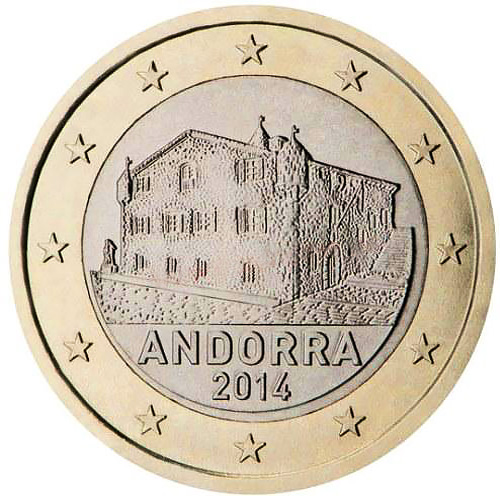 Andorra: coins mintages and market value since 2014