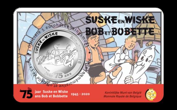 La Monnaie belge honore les JO d'Anvers de 1920 et la BD Bob et Bobette